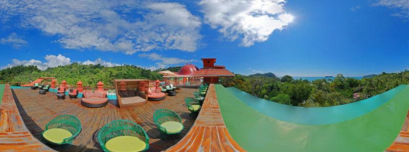 Sixth Floor Terrace with Adult Pool - Hotel San Bada
